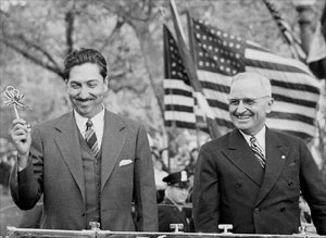 Miguel Aleman and Harry S. Truman
